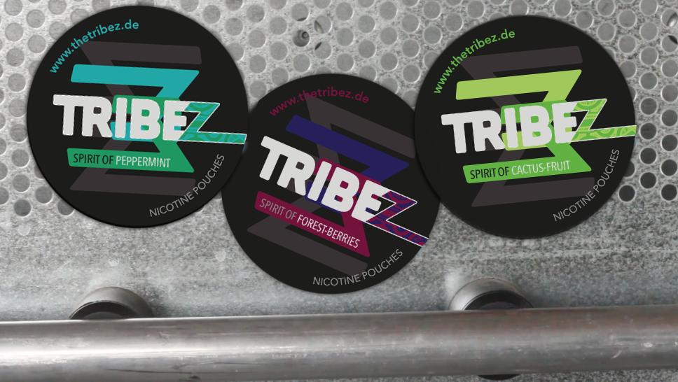 TRIBEZ – Nikotin Pouches Sticker